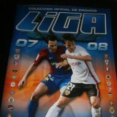Coleccionismo deportivo: ALBUM DE CROMOS, FUTBOL, LIGA 2007-2008, BBVA, ALBUM OFICIAL, PANINI,. Lote 48880242