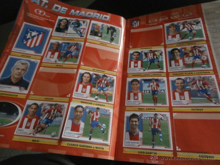 Coleccionismo deportivo: ALBUM DE CROMOS, FUTBOL, LIGA 2007-2008, BBVA, ALBUM OFICIAL, PANINI, - Foto 3 - 48880242