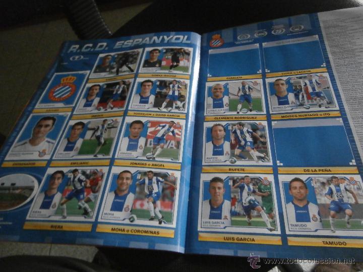 Coleccionismo deportivo: ALBUM DE CROMOS, FUTBOL, LIGA 2007-2008, BBVA, ALBUM OFICIAL, PANINI, - Foto 4 - 48880242