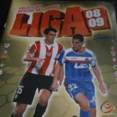 Coleccionismo deportivo: ALBUM DE CROMOS, FUTBOL, LIGA 2008-2009, BBVA, ALBUM OFICIAL, PANINI,. Lote 48880323