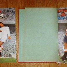 Coleccionismo deportivo: ALBUM CAMPEONATO DE LIGA 1972 1973 - 72 73 - DISGRA VACIO + ALBUM CON LOS CROMOS ENCUADERNADO. Lote 48914194