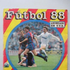 Coleccionismo deportivo: ÁLBUM CROMOS INCOMPLETO - FÚTBOL 88 - ED. PANINI 1988. Lote 49249898