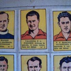 Coleccionismo deportivo: (F-0530)ALBUM CROMOS ASES DEL FUTBOL,ZAMORA,ALCANTARA,SAMITIER,EIZAGUIRRE,ETC.. Lote 49394331