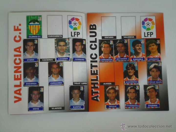 Coleccionismo deportivo: ALBUM DE CROMOS DEL CHICLE CAMPEON. AÑO 1997. INCOMPLETO - Foto 2 - 49519401