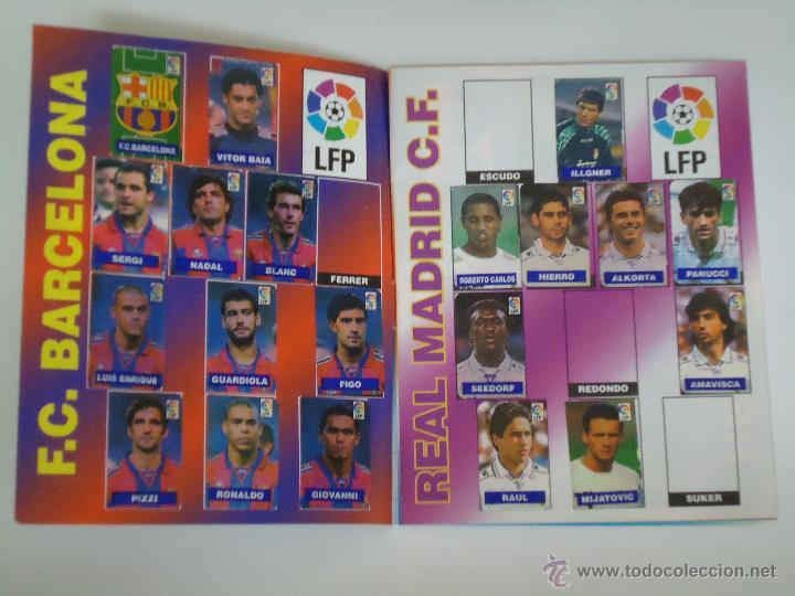 Coleccionismo deportivo: ALBUM DE CROMOS DEL CHICLE CAMPEON. AÑO 1997. INCOMPLETO - Foto 3 - 49519401