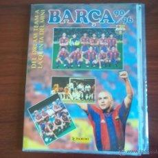Coleccionismo deportivo: ALBUM LIGA 90/96 -BARÇA - DEL DREAM TEAM A LA QUINTA DEL MINI - PANINI. Lote 49538881