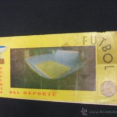 FUTBOL FIGURAS DEL DEPORTE - A FALTA DE 1 CROMO - PIPAS GABARDA - 1974 -