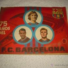 Coleccionismo deportivo: 75 AÑOS DEL F.C. BARCELONA. Lote 49577683