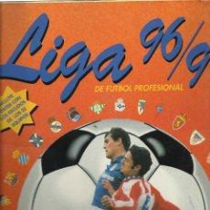 Coleccionismo deportivo: ALBUM LIGA 96/97 DE PANINI CON 415 CROMOS SOLO FALTAN 17 CROMOS. Lote 172701915