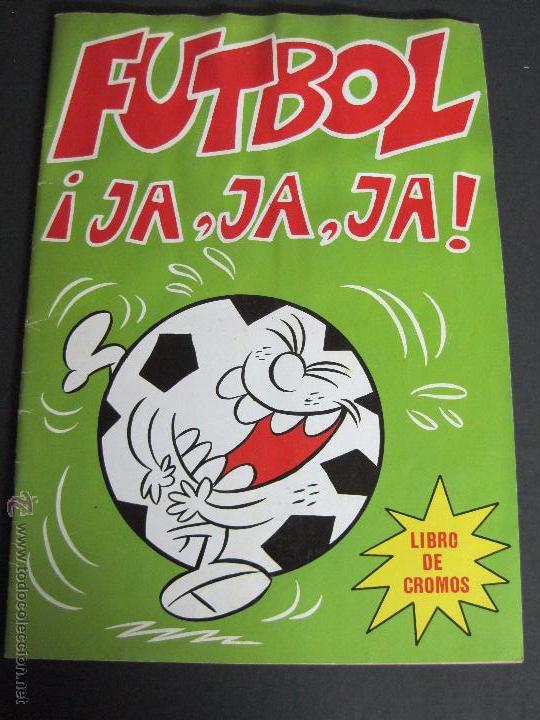 FUTBOL JAJAJA - CROMOS ROS - INCOMPLETO - VER FOTOS - (CD-1555) (Coleccionismo Deportivo - Álbumes y Cromos de Deportes - Álbumes de Fútbol Incompletos)