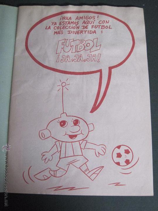 Coleccionismo deportivo: FUTBOL JAJAJA - CROMOS ROS - INCOMPLETO - VER FOTOS - (CD-1555) - Foto 2 - 49685271