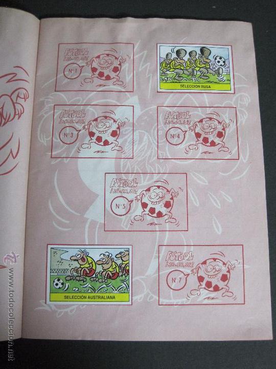 Coleccionismo deportivo: FUTBOL JAJAJA - CROMOS ROS - INCOMPLETO - VER FOTOS - (CD-1555) - Foto 3 - 49685271