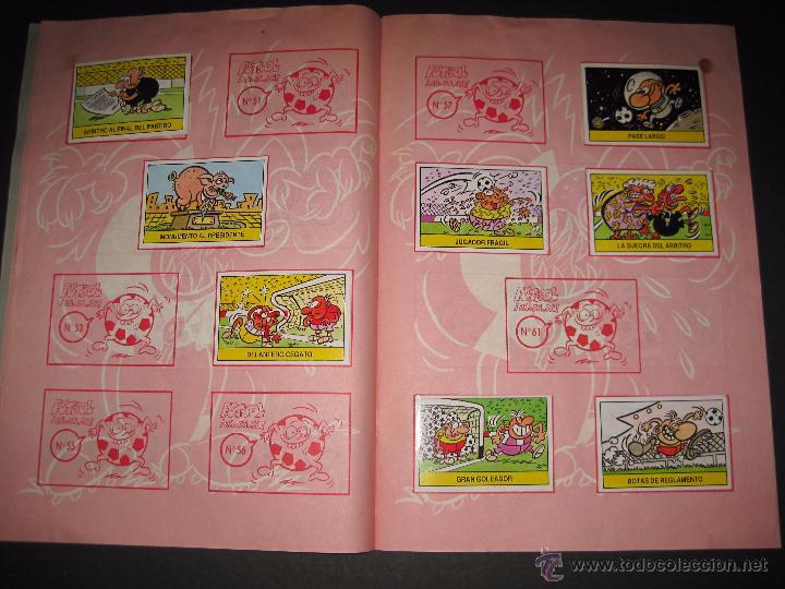 Coleccionismo deportivo: FUTBOL JAJAJA - CROMOS ROS - INCOMPLETO - VER FOTOS - (CD-1555) - Foto 7 - 49685271