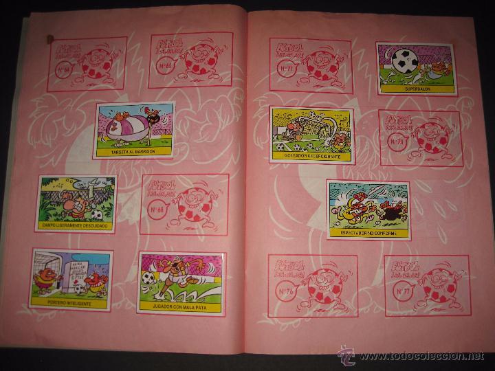 Coleccionismo deportivo: FUTBOL JAJAJA - CROMOS ROS - INCOMPLETO - VER FOTOS - (CD-1555) - Foto 8 - 49685271