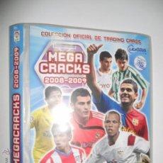 Coleccionismo deportivo: ALBUM FICHERO ARCHIVADOR PLASTICO VACIO SIN CROMOS MEGACRACKS PANINI MGK LIGA FUTBOL 2008 2009 08 09. Lote 98860815