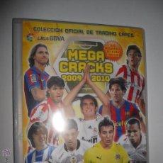 Coleccionismo deportivo: ALBUM FICHERO ARCHIVADOR PLASTICO VACIO SIN CROMOS MEGACRACKS PANINI MGK LIGA FUTBOL 2009 2010 09 10. Lote 49839335