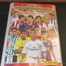 Coleccionismo deportivo: ALBUN ADRENALYN 2013-14 CON 451 CROMOS.. Lote 50092561