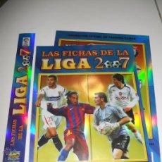 Coleccionismo deportivo: HOJAS VERSION BRILLO LISO PARA ALBUM FICHERO ARCHIVADOR PLASTICO CROMOS MUNDICROMO 2006 2007 06 07. Lote 49863568