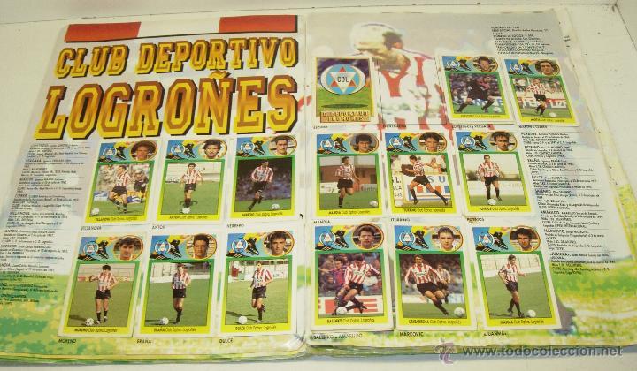 Coleccionismo deportivo: Album cromos futbol liga 93-94 Este con 391 cromos - Foto 2 - 162635074