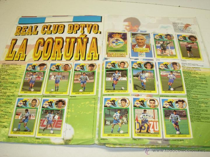 Coleccionismo deportivo: Album cromos futbol liga 93-94 Este con 391 cromos - Foto 3 - 162635074