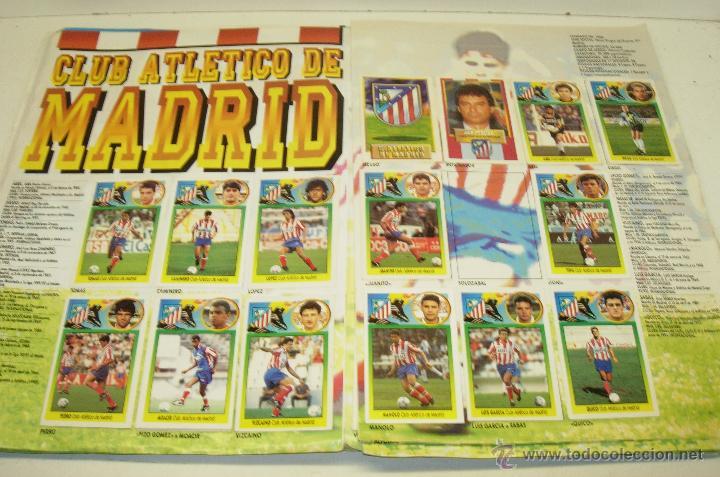 Coleccionismo deportivo: Album cromos futbol liga 93-94 Este con 391 cromos - Foto 4 - 162635074