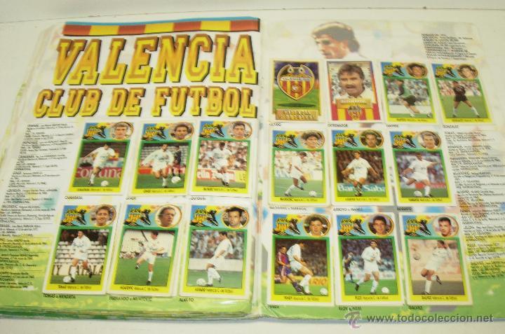 Coleccionismo deportivo: Album cromos futbol liga 93-94 Este con 391 cromos - Foto 5 - 162635074