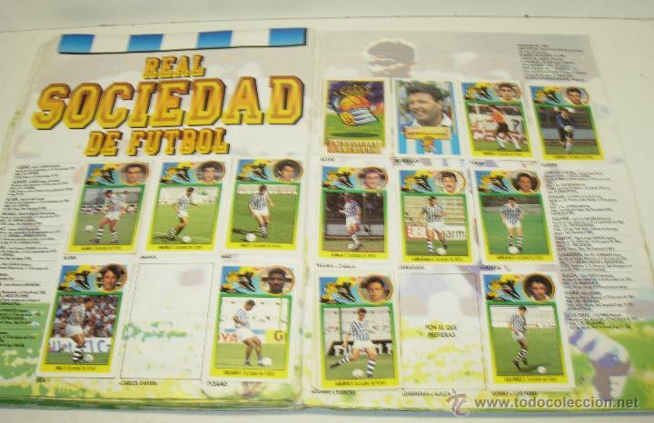 Coleccionismo deportivo: Album cromos futbol liga 93-94 Este con 391 cromos - Foto 6 - 162635074