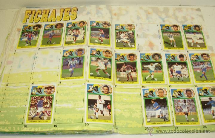 Coleccionismo deportivo: Album cromos futbol liga 93-94 Este con 391 cromos - Foto 7 - 162635074