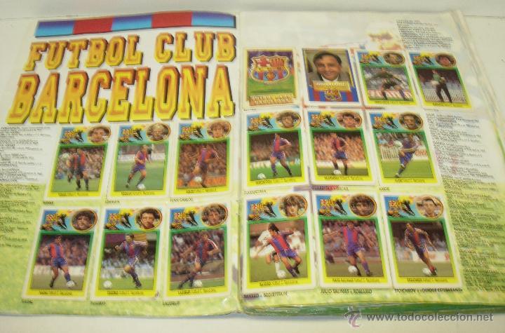 Coleccionismo deportivo: Album cromos futbol liga 93-94 Este con 391 cromos - Foto 8 - 162635074
