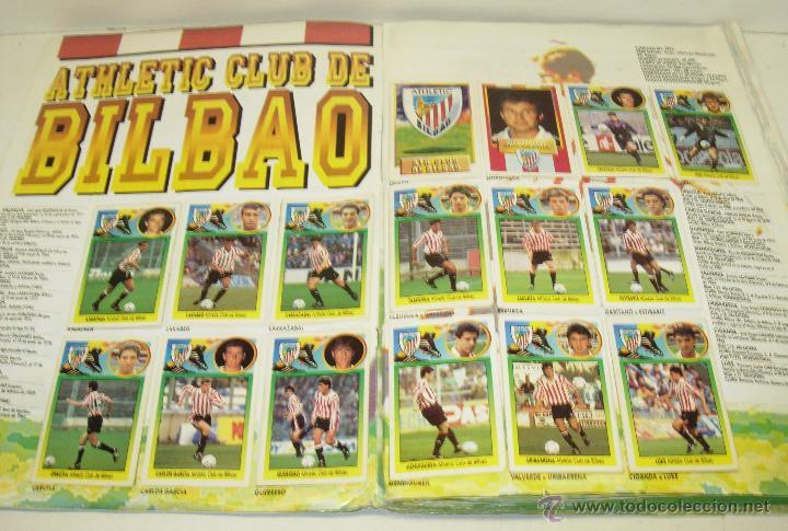 Coleccionismo deportivo: Album cromos futbol liga 93-94 Este con 391 cromos - Foto 9 - 162635074