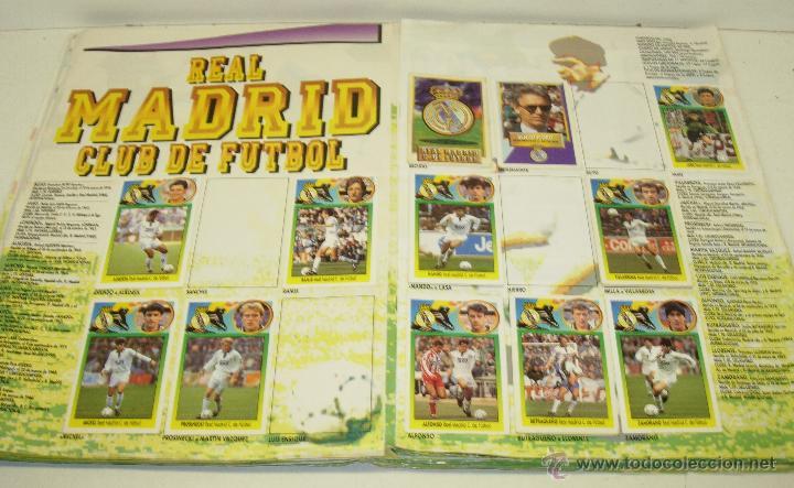 Coleccionismo deportivo: Album cromos futbol liga 93-94 Este con 391 cromos - Foto 12 - 162635074
