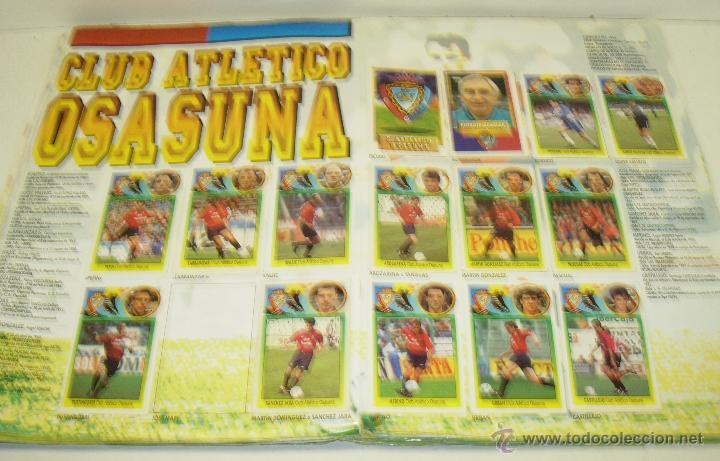Coleccionismo deportivo: Album cromos futbol liga 93-94 Este con 391 cromos - Foto 13 - 162635074