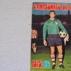Coleccionismo deportivo: ALBUM CAMPEONATO DE LIGA DISGRA-FHER 1975-76 CON FICHAJES. Lote 49964981