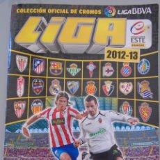 Coleccionismo deportivo: ÁLBUM DE CROMOS DE FÚTBOL. LIGA 2012 2013. PANINI ESTE. INCLUYE 507 CROMOS. Lote 49975907
