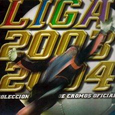 Coleccionismo deportivo: EDICIONES ESTE LIGA 2003 2004 TODOS LOS EQUIPOS COMPLETOS EL DE LAS FOTOS VER TODOS MIS ALBUNES. Lote 49992319