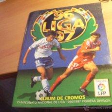 Coleccionismo deportivo: LIGA 96 97 1996 7 1997 FUTBOL NACIONAL. ALBUM ESTE CON 351 CROMOS (ALB5). Lote 50061446