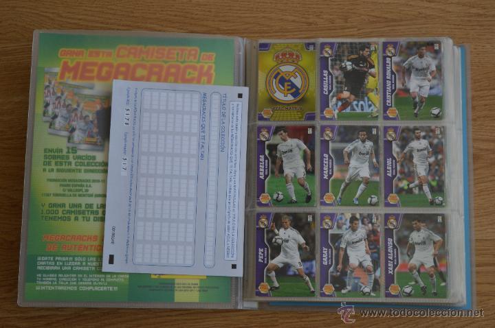 Coleccionismo deportivo: ALBUM FUTBOL MEGA CRACKS 2010 2011 COLECCIÓN OFICIAL DE 452 TRADING CARDS NO REPETIDAS - Foto 2 - 50081364