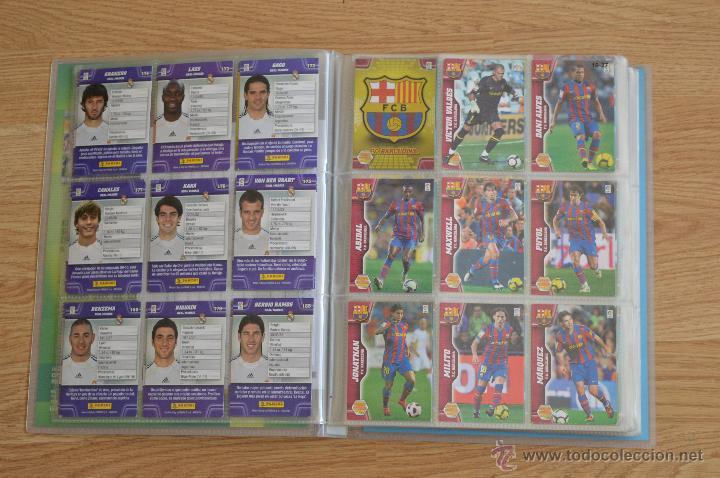 Coleccionismo deportivo: ALBUM FUTBOL MEGA CRACKS 2010 2011 COLECCIÓN OFICIAL DE 452 TRADING CARDS NO REPETIDAS - Foto 4 - 50081364