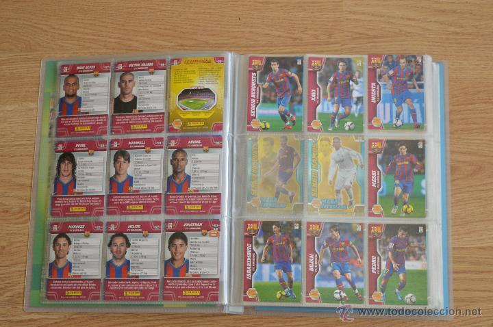 Coleccionismo deportivo: ALBUM FUTBOL MEGA CRACKS 2010 2011 COLECCIÓN OFICIAL DE 452 TRADING CARDS NO REPETIDAS - Foto 5 - 50081364