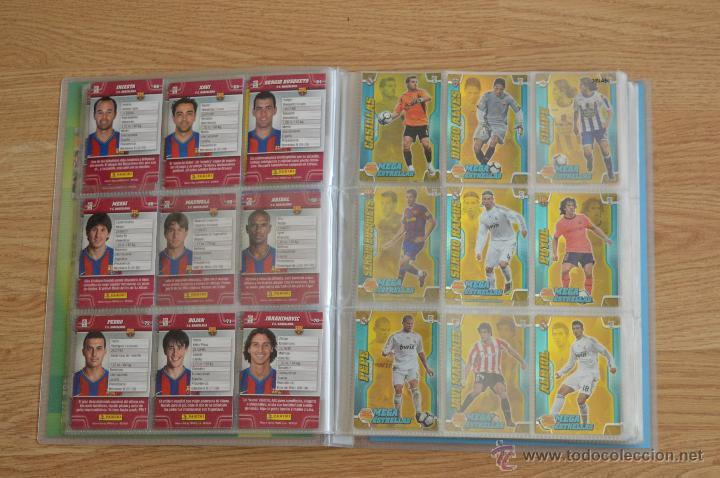 Coleccionismo deportivo: ALBUM FUTBOL MEGA CRACKS 2010 2011 COLECCIÓN OFICIAL DE 452 TRADING CARDS NO REPETIDAS - Foto 6 - 50081364