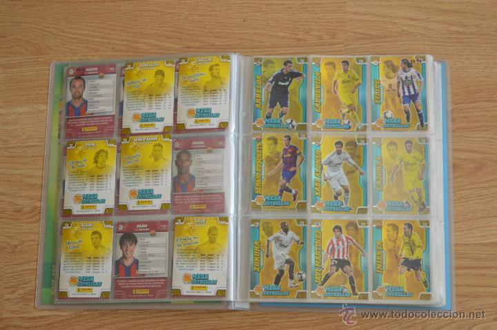 Coleccionismo deportivo: ALBUM FUTBOL MEGA CRACKS 2010 2011 COLECCIÓN OFICIAL DE 452 TRADING CARDS NO REPETIDAS - Foto 7 - 50081364