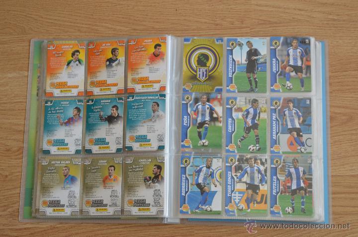 Coleccionismo deportivo: ALBUM FUTBOL MEGA CRACKS 2010 2011 COLECCIÓN OFICIAL DE 452 TRADING CARDS NO REPETIDAS - Foto 8 - 50081364
