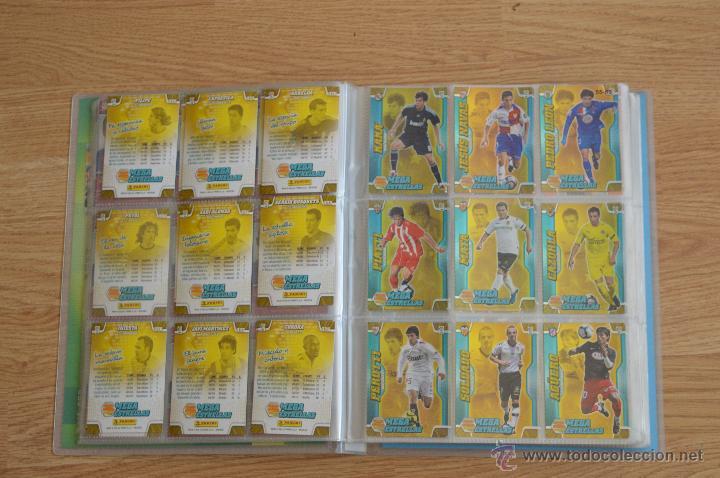 Coleccionismo deportivo: ALBUM FUTBOL MEGA CRACKS 2010 2011 COLECCIÓN OFICIAL DE 452 TRADING CARDS NO REPETIDAS - Foto 9 - 50081364