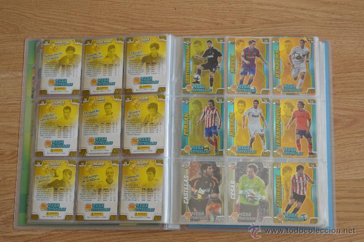 Coleccionismo deportivo: ALBUM FUTBOL MEGA CRACKS 2010 2011 COLECCIÓN OFICIAL DE 452 TRADING CARDS NO REPETIDAS - Foto 10 - 50081364