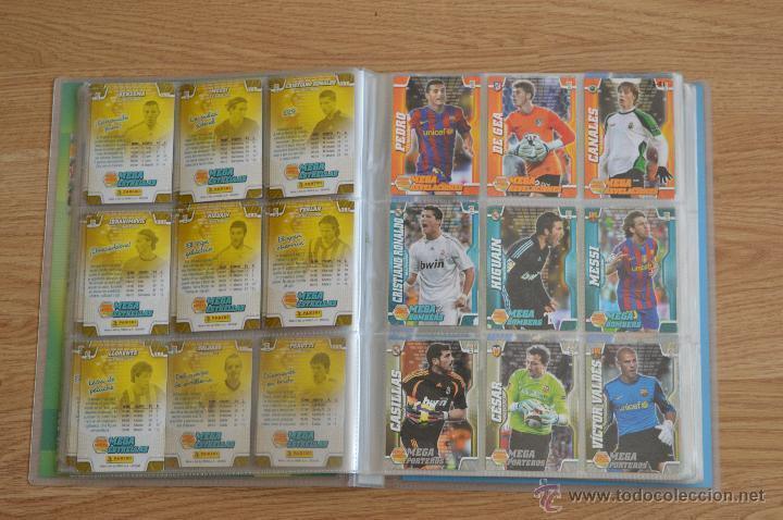 Coleccionismo deportivo: ALBUM FUTBOL MEGA CRACKS 2010 2011 COLECCIÓN OFICIAL DE 452 TRADING CARDS NO REPETIDAS - Foto 11 - 50081364