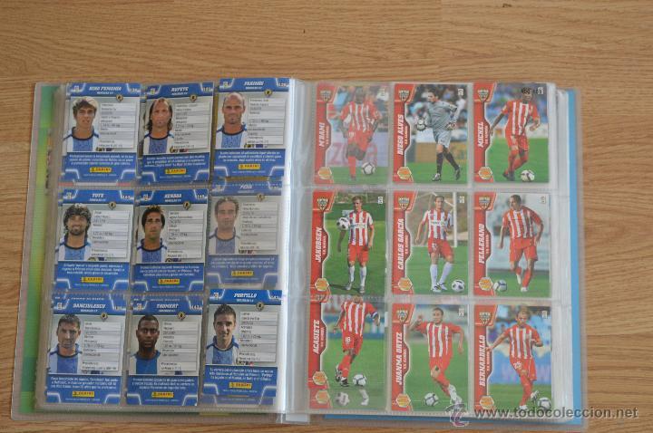 Coleccionismo deportivo: ALBUM FUTBOL MEGA CRACKS 2010 2011 COLECCIÓN OFICIAL DE 452 TRADING CARDS NO REPETIDAS - Foto 13 - 50081364
