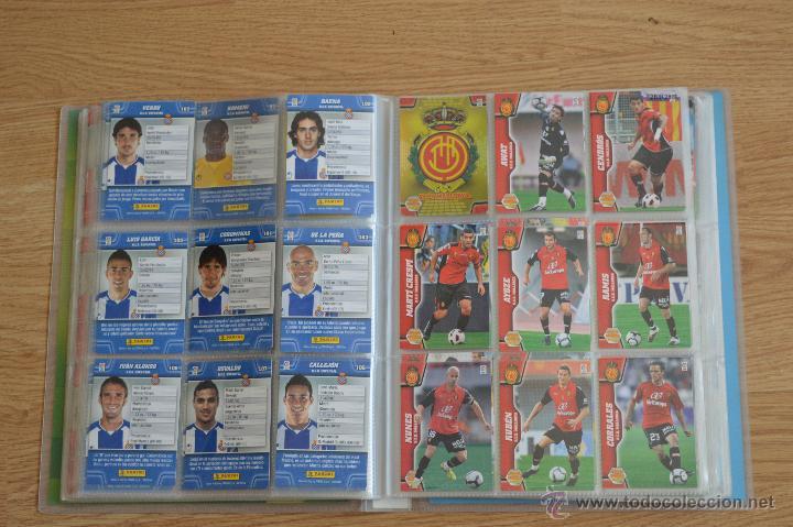 Coleccionismo deportivo: ALBUM FUTBOL MEGA CRACKS 2010 2011 COLECCIÓN OFICIAL DE 452 TRADING CARDS NO REPETIDAS - Foto 25 - 50081364