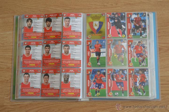 Coleccionismo deportivo: ALBUM FUTBOL MEGA CRACKS 2010 2011 COLECCIÓN OFICIAL DE 452 TRADING CARDS NO REPETIDAS - Foto 27 - 50081364