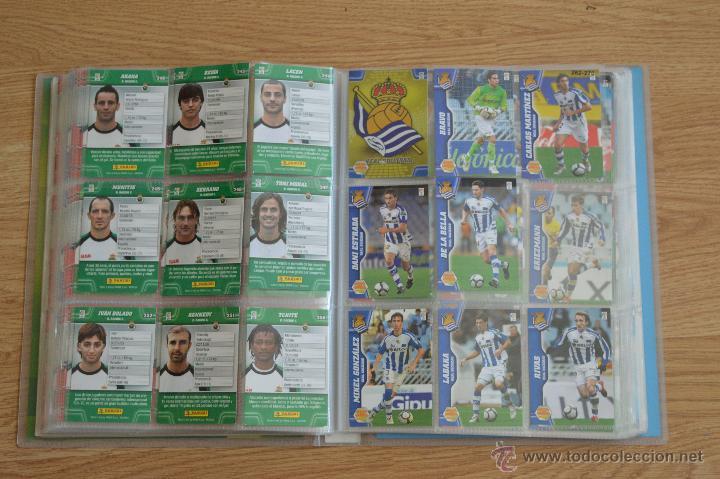 Coleccionismo deportivo: ALBUM FUTBOL MEGA CRACKS 2010 2011 COLECCIÓN OFICIAL DE 452 TRADING CARDS NO REPETIDAS - Foto 31 - 50081364