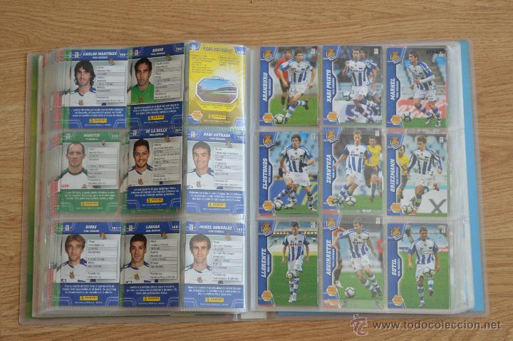 Coleccionismo deportivo: ALBUM FUTBOL MEGA CRACKS 2010 2011 COLECCIÓN OFICIAL DE 452 TRADING CARDS NO REPETIDAS - Foto 32 - 50081364